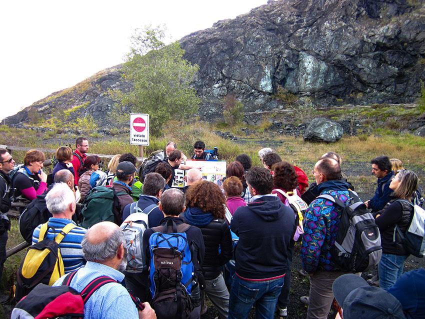 Geological trip Segadelli