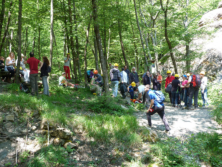 Stefano Segadelli hiking corchia