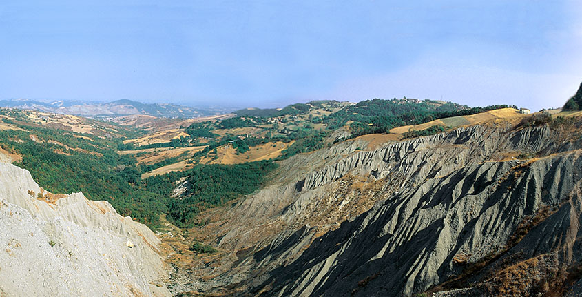segadelli geosite canossa calanchi
