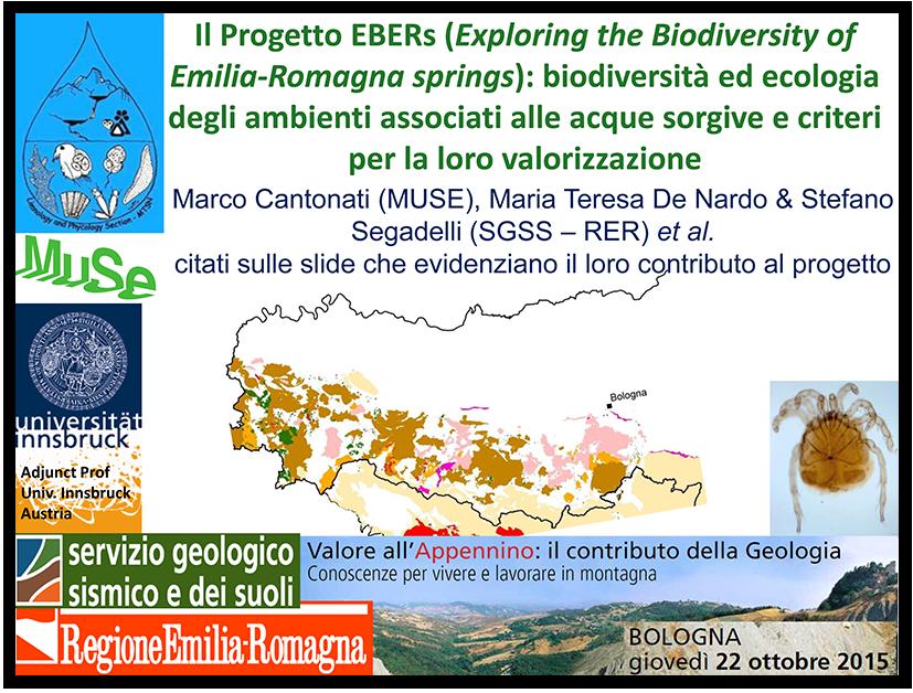 Biodiversità Emilia-Romagna EBERs